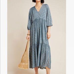 Anthropologie maxi dress, still in stores.